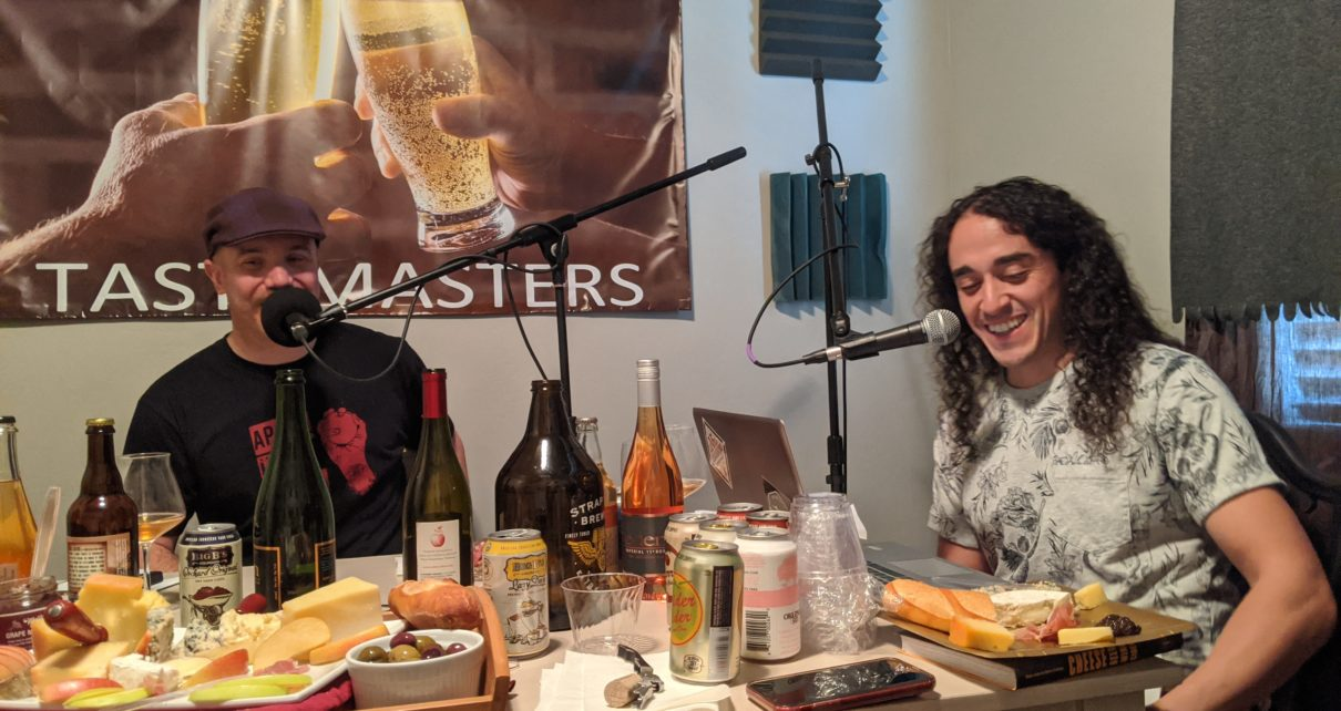 Introducing the Tastemasters to Cider